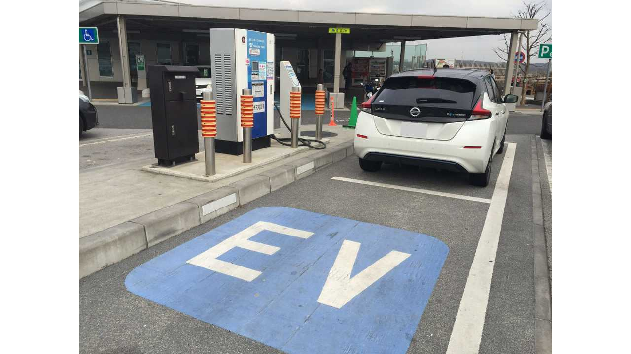 Japan's EV Infrastructure Is Massive, Electric Car Sales Not So Much