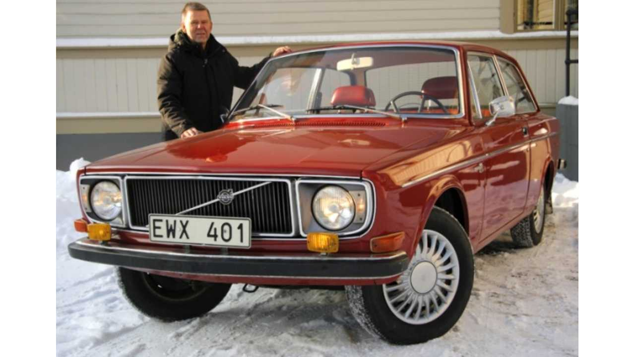 Timeless Volvo 142 Gets Electric Treatment