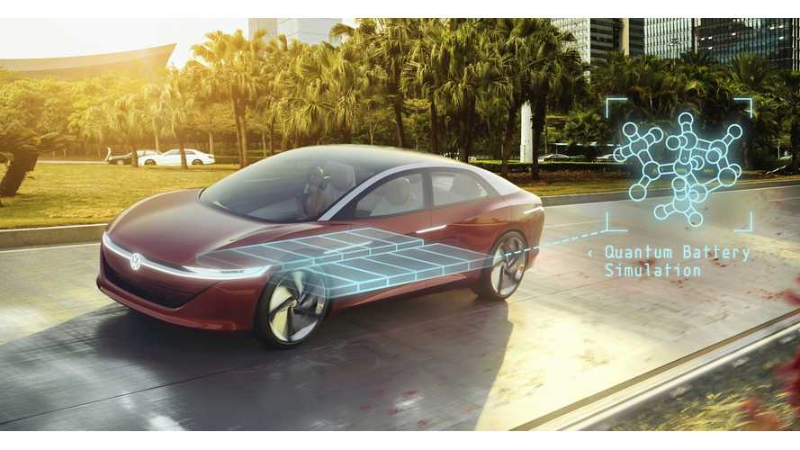 Volkswagen Turns To Quantum Computing For Electric Car Batteries