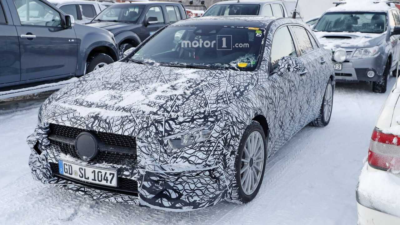 Mercedes-Benz A-Class Plug-In Hybrid Spied For First Time