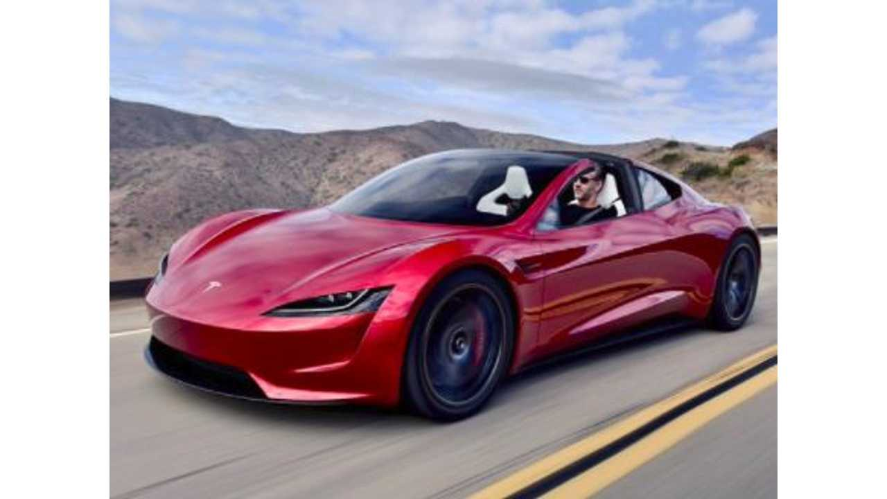 Franz Takes An Afternoon Cruise In New Tesla Roadster