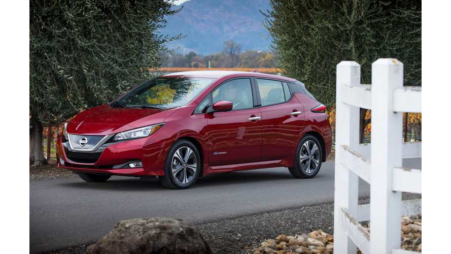 European Orders For New 2018 Nissan LEAF Now Exceed 10,000