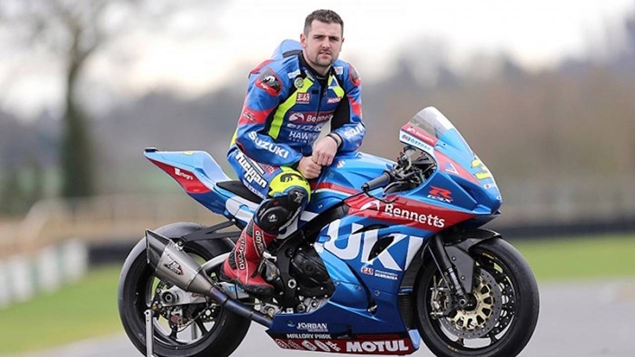 Michael Dunlop to Ride GSX-R1000 in Isle of Man TT