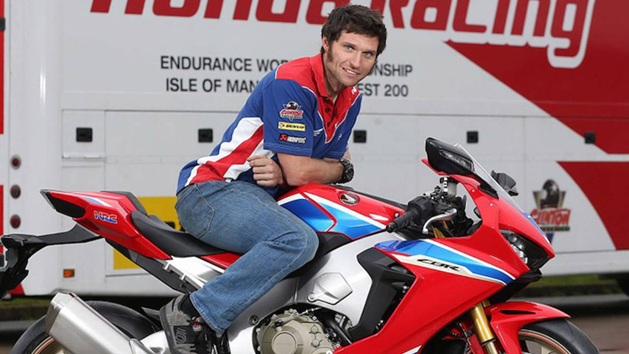 Guy Martin Signs With Honda For 2017 Isle of Man TT