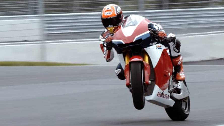 Video of the Day: RC213VS at Redbull Ring
