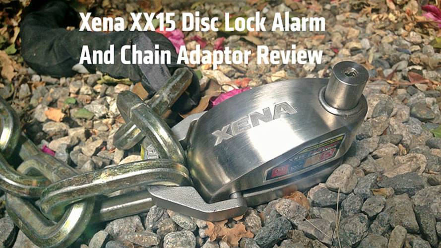 Xena XX15 Disc Lock Alarm and Chain Adaptor Review