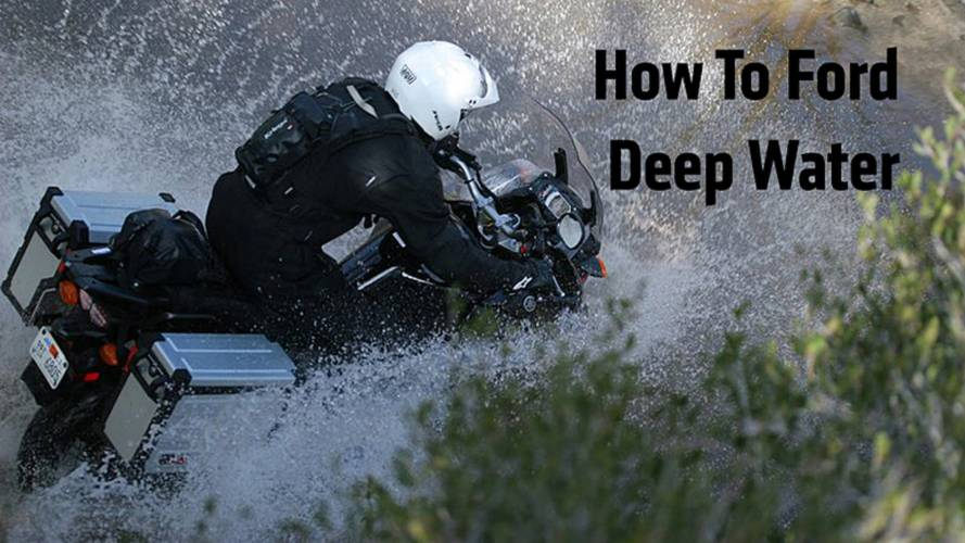 6 Steps: How To Ford Deep Water On A Dirt Bike
