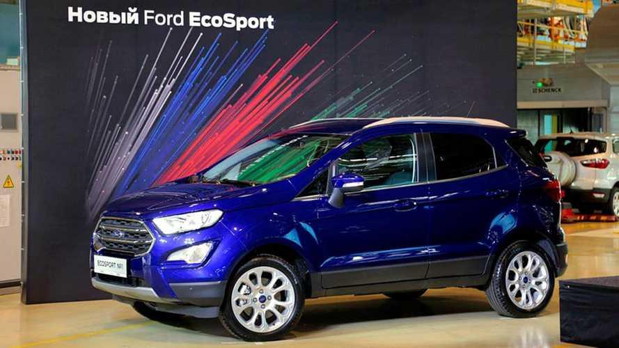 Ford EcoSport - Rússia
