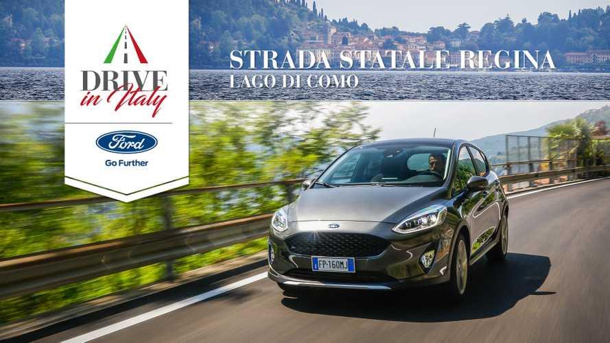 Tra le rive del Lago di Como con Ford Fiesta Active
