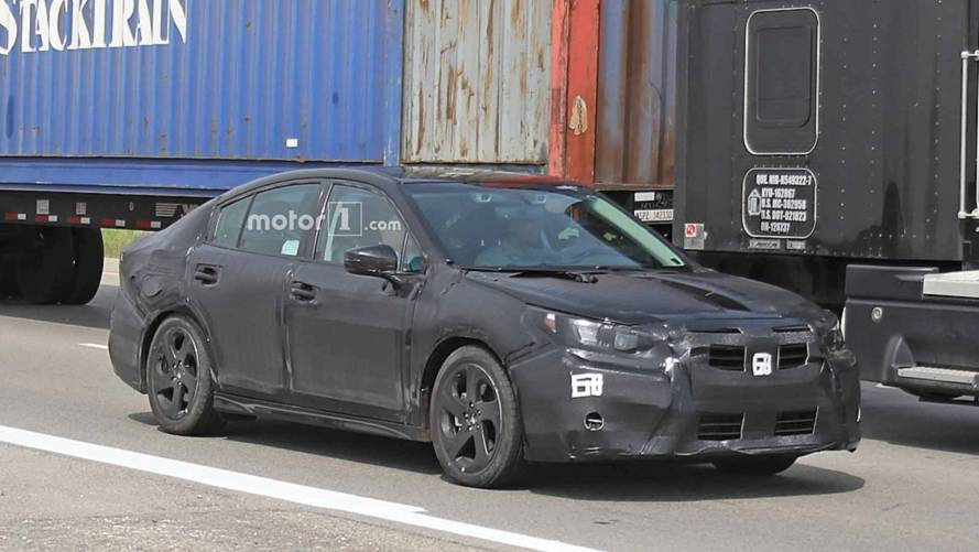 Next-Gen Subaru Legacy Spied Under Heavy Camouflage