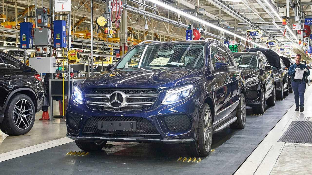 Mercedes, l'impianto di Tuscaloosa