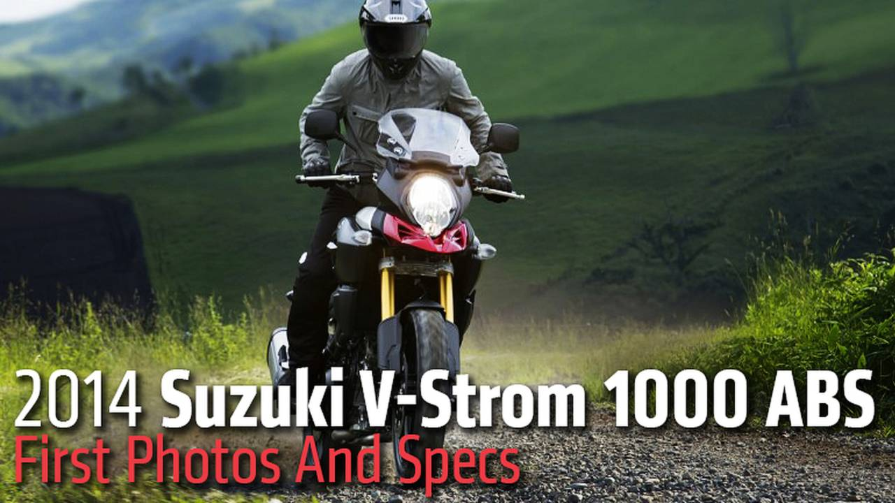 2014 Suzuki V-Strom 1000 ABS: First Photos And Specs