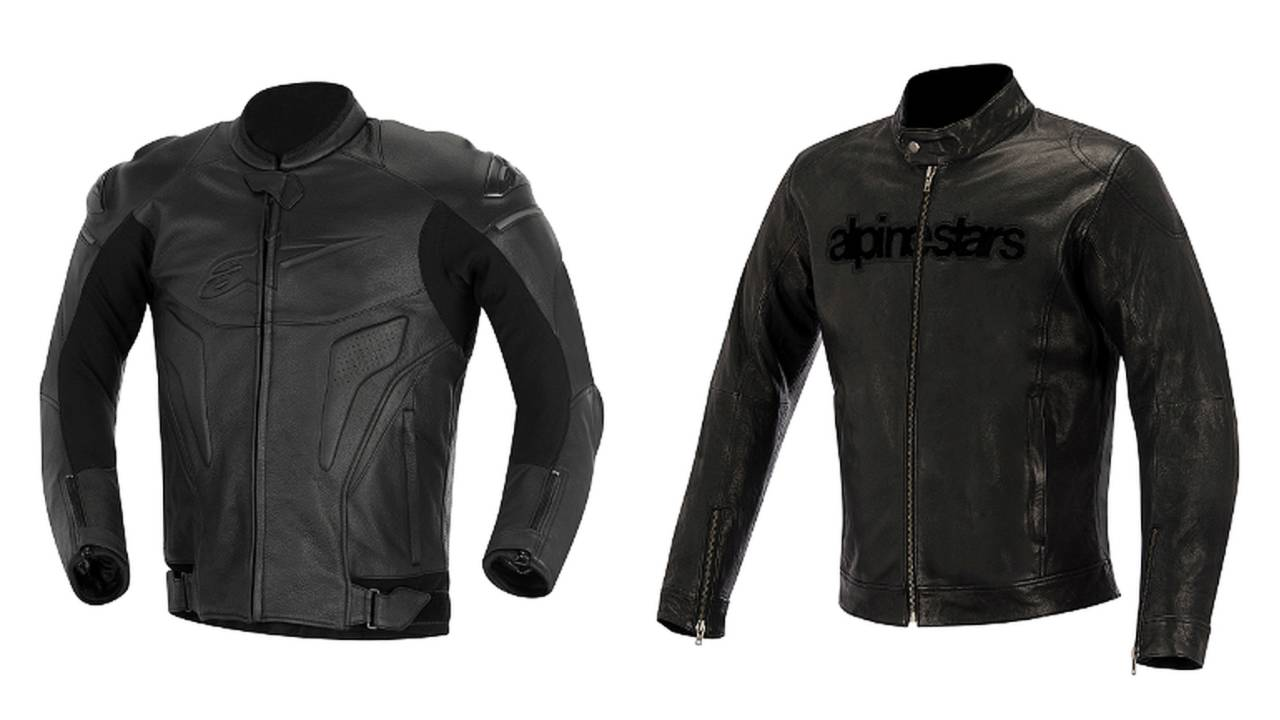 Alpinestars Black Shadow Collection: New Motorcycle Jackets for 2014