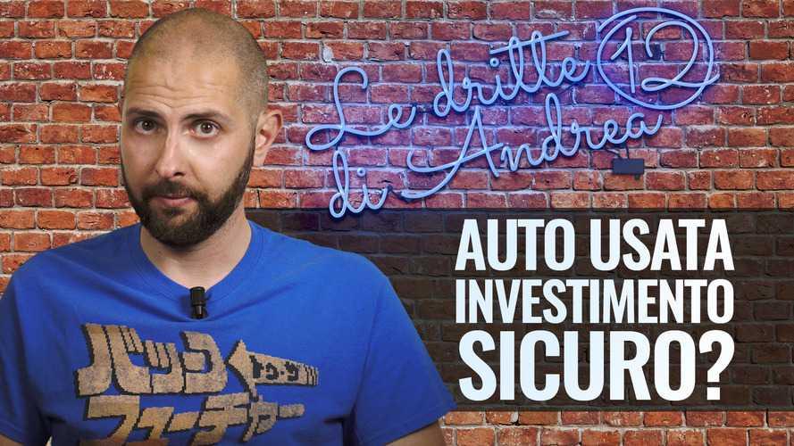 """Auto come """"investimento"""" sicuro? Non è tutto oro quello che luccica!"""