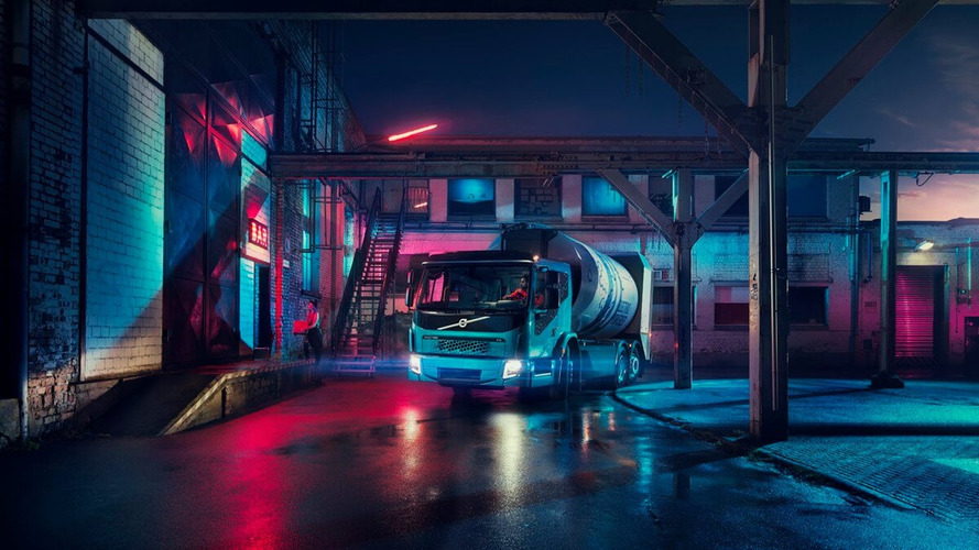 Volvo Unveils Second Electric Truck – The FE Electric