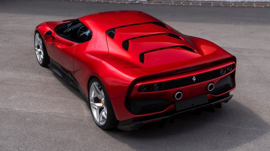Élőben is megmutatta magát a Ferrari SP38 Deborah