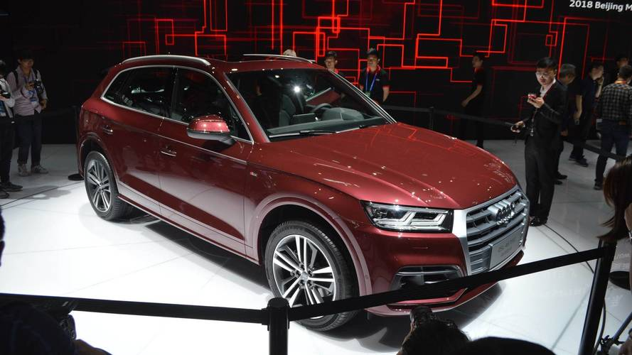 "Audi Q5 L Stretches Out In Beijing With ""Opulent Space"" In The Back"
