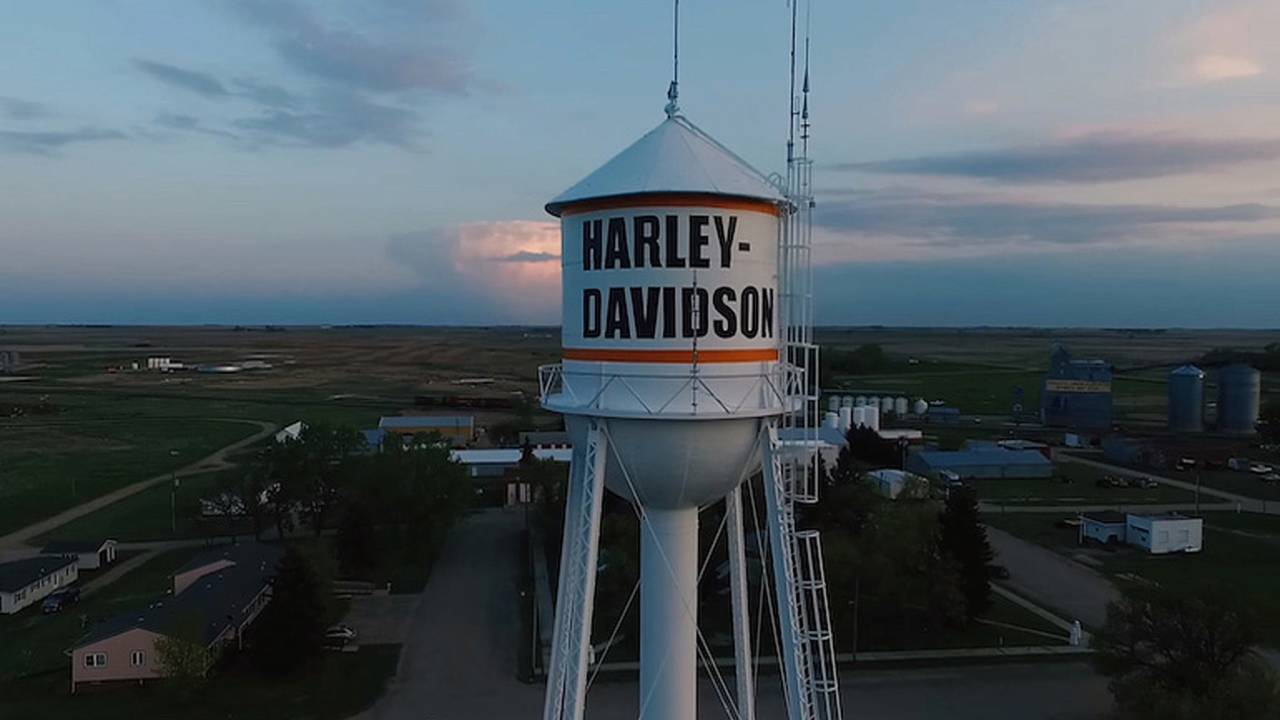 Ryder, ND, the Town that Harley Taught to Ride