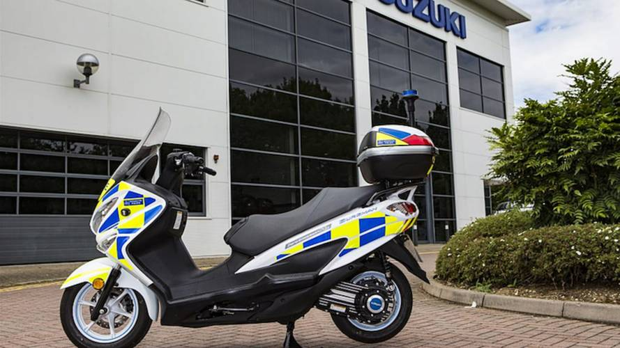 London Police To Trial Suzuki Hydrogen Fuel Cell Scooters