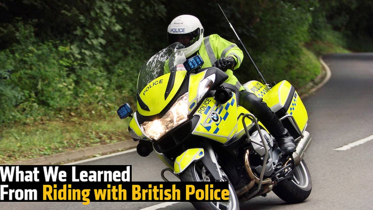 What We Learned from Riding with British Police