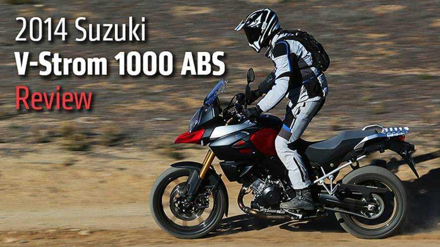 2014 Suzuki V-Strom 1000 ABS Review