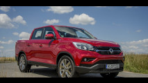 ssangyong musso pickup test preise