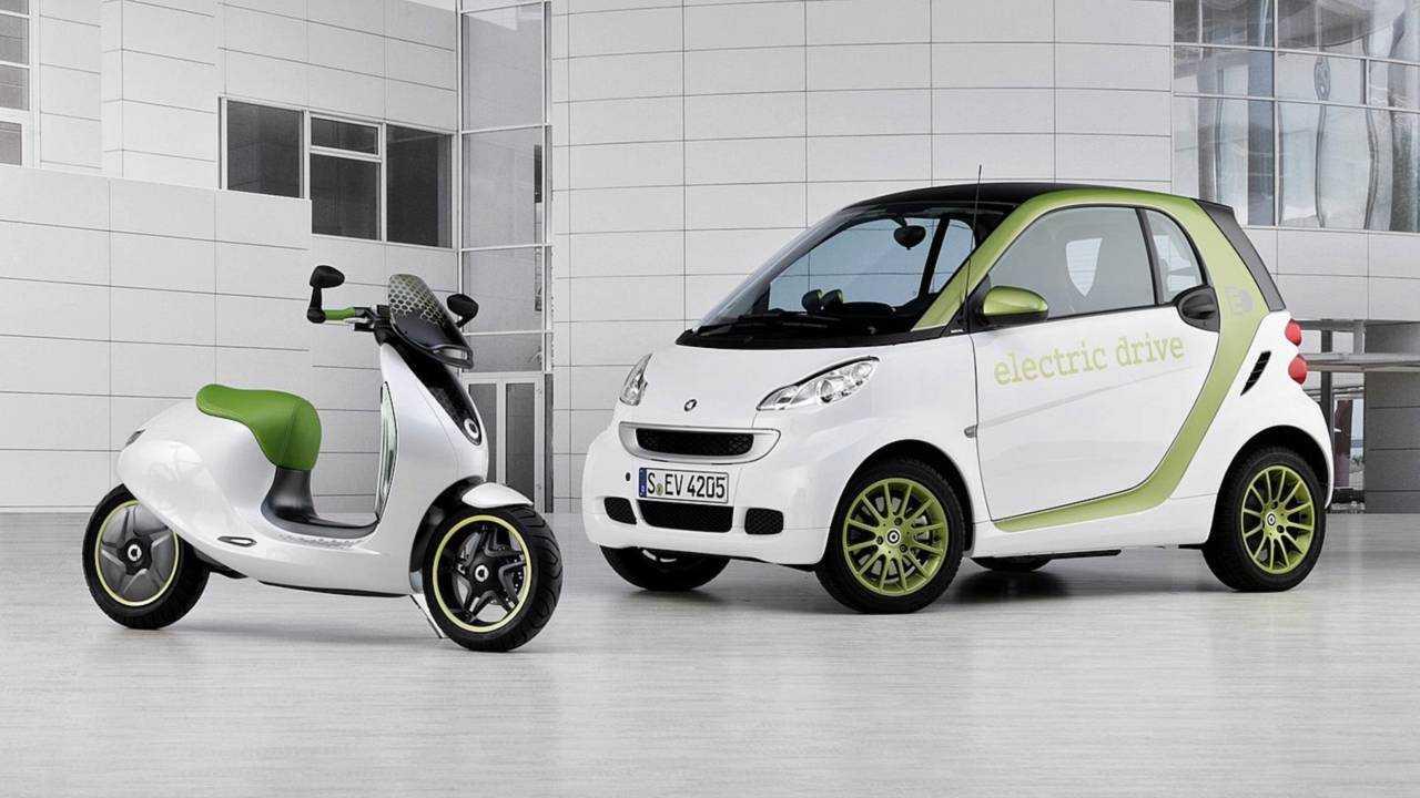 smart eScooter (2010)