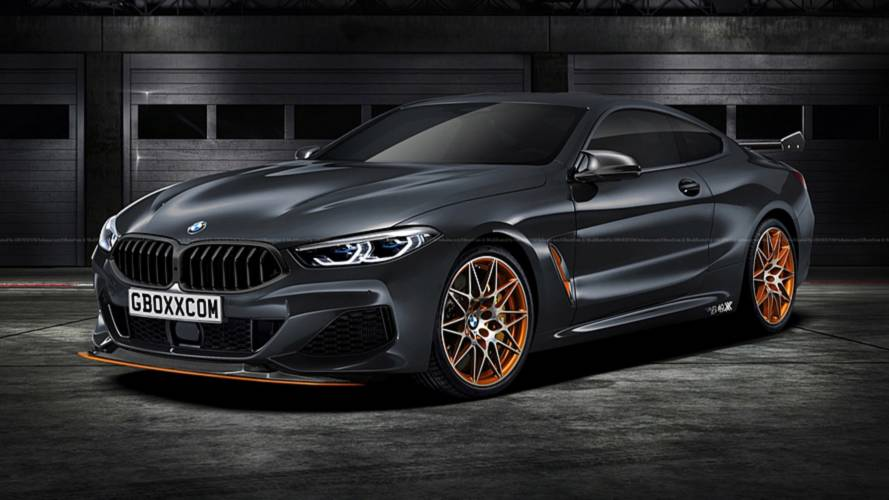 BMW M8 Competition 2019'da gelebilir