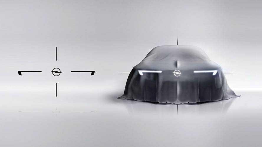 Teaser concept Opel