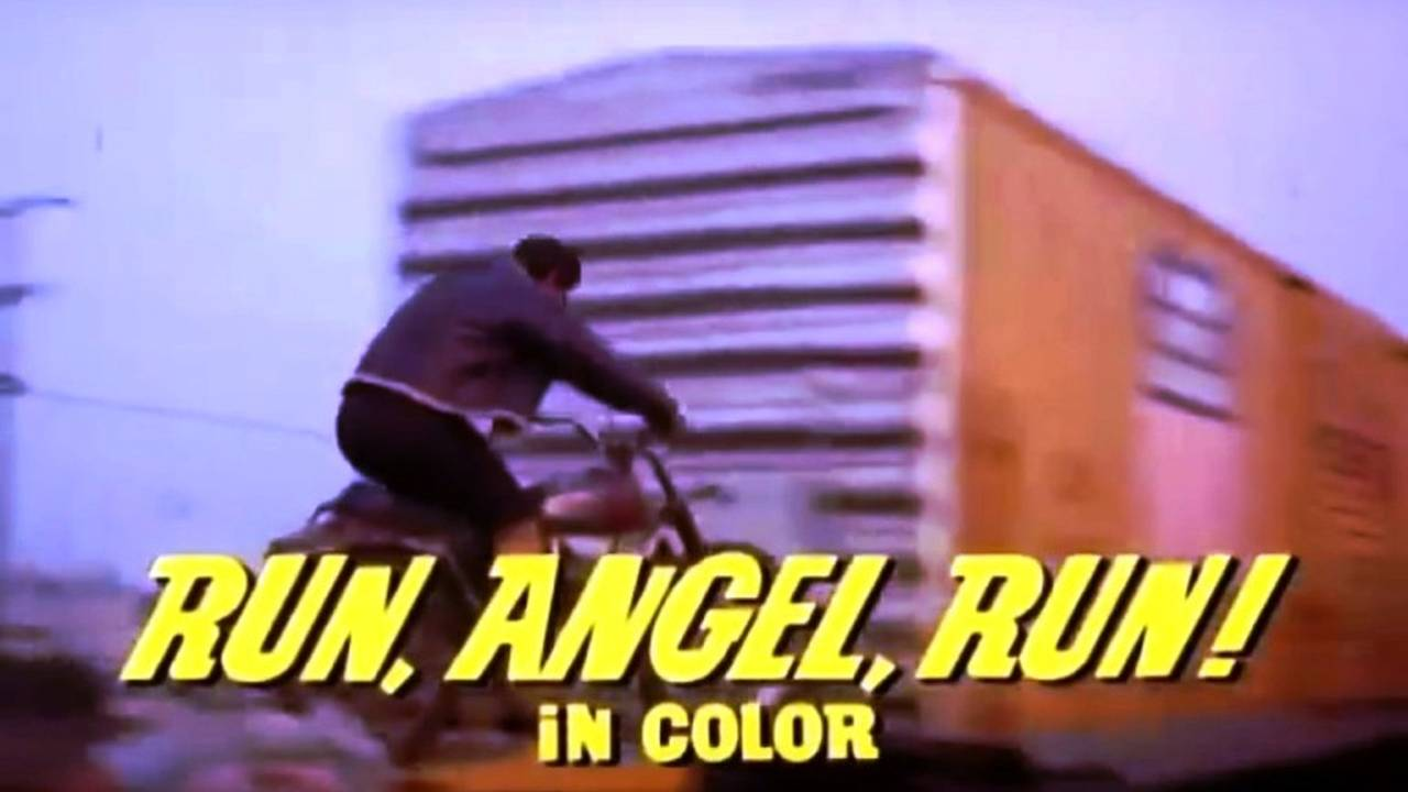 Run, Angel, Run! (1969) - Moto Movie Review