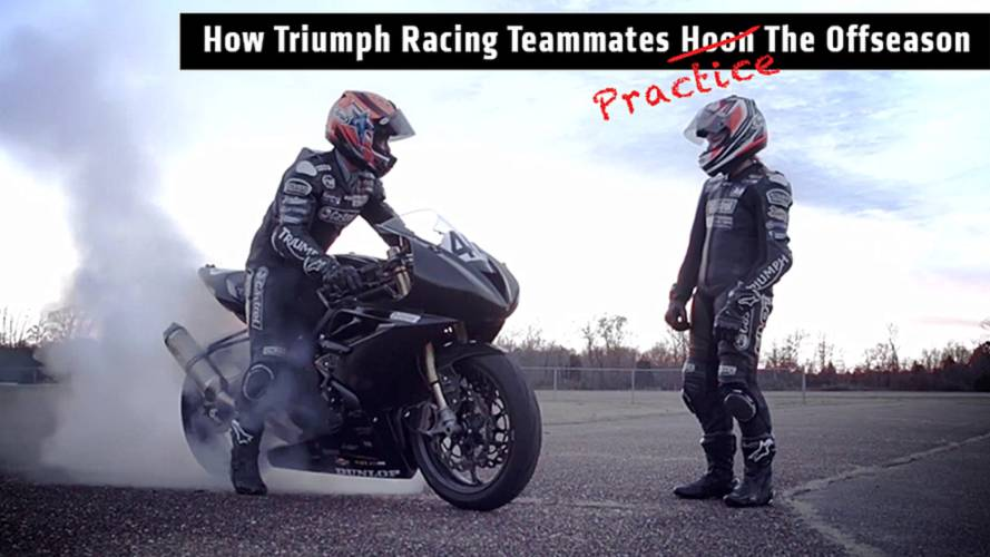 How Triumph Racing Teammates Hoon The Offseason