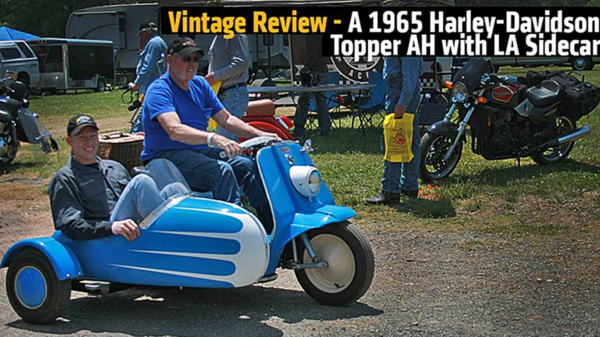 Vintage Review - A 1965 Harley-Davidson Topper AH with LA