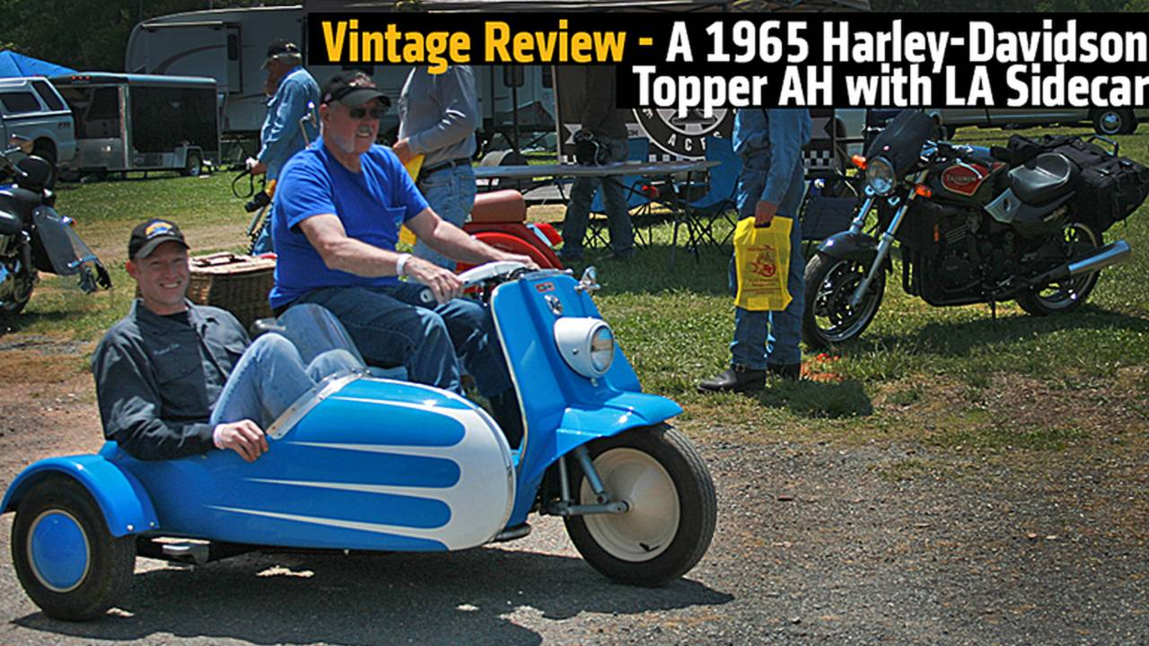 Vintage Review - A 1965 Harley-Davidson Topper AH with LA Sidecar