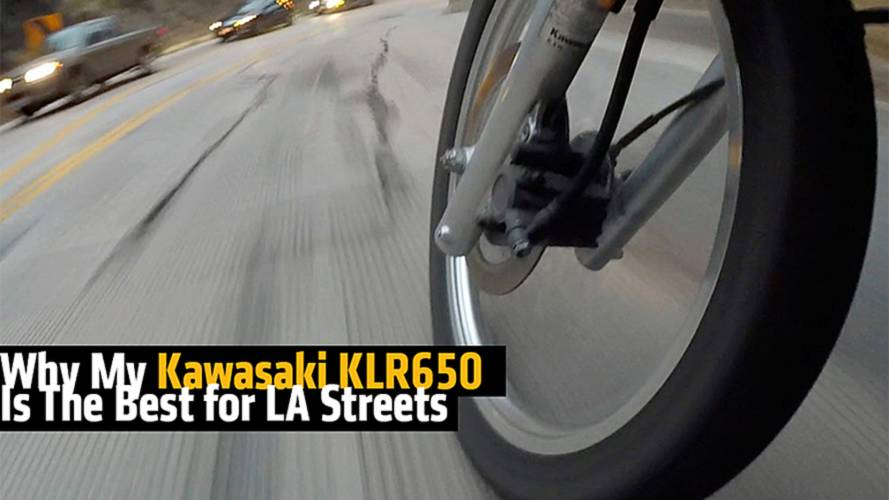 Why My Kawasaki KLR650 Is The Best for LA Streets