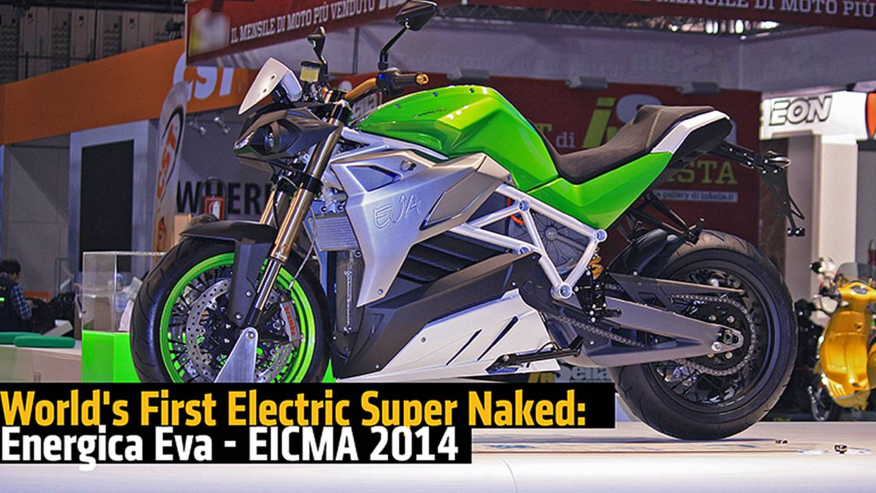World's First Electric Super Naked: Energica Eva - EICMA 2014