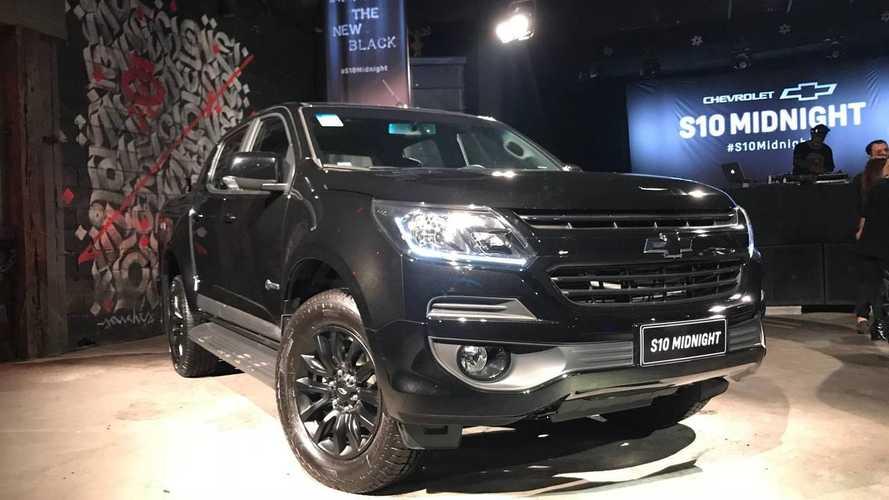 Chevrolet S10 Midnight será vendida por R$ 166.690