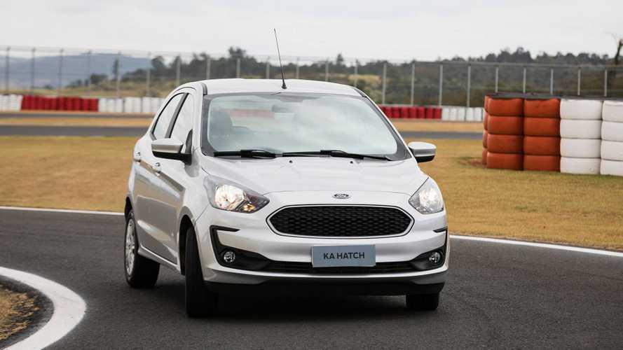 Ford Ka em 2º e Fiat Argo bate recorde nas vendas parciais de setembro