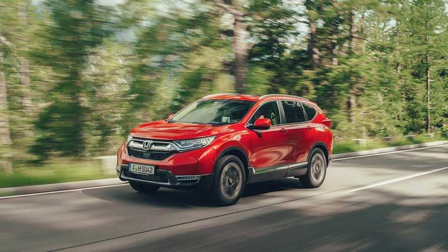 Nuova Honda CR-V, la prova su strada