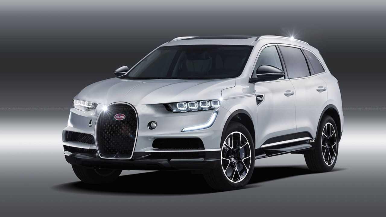 7. Bugatti SUV