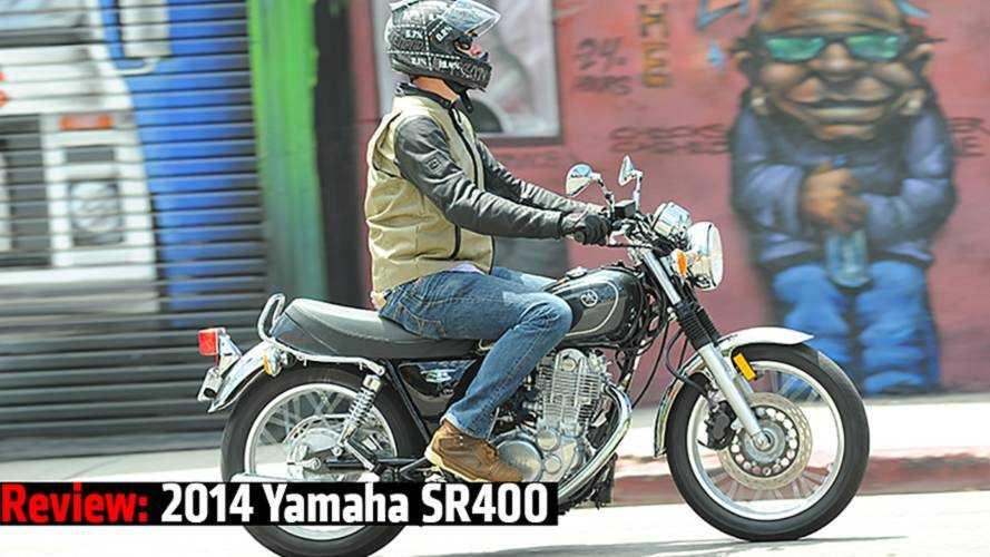 Review: 2014 Yamaha SR400