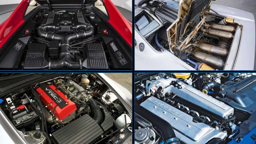 1990'ların en iyi motorlarına sahip 10 otomobil