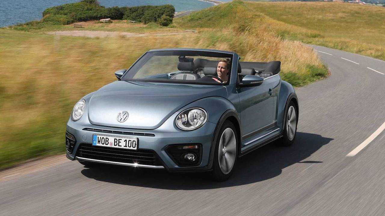 3. Volkswagen Beetle Convertible