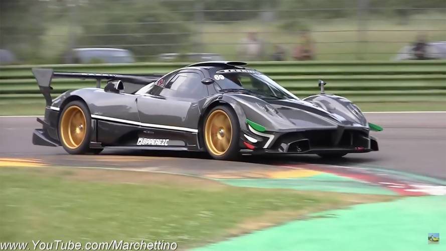 Pagani Zonda Revolución Sounds Like It's Possessed By The Devil