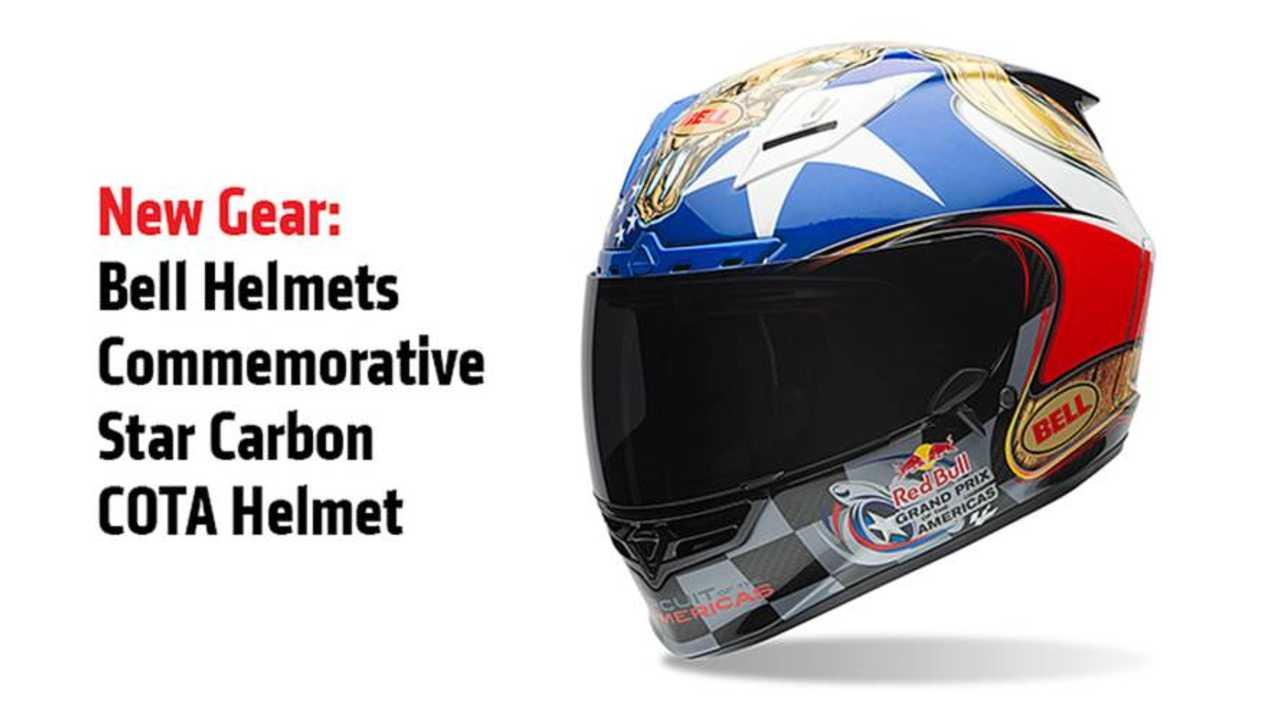 Bell Helmets Commemorative Star Carbon COTA Helmet