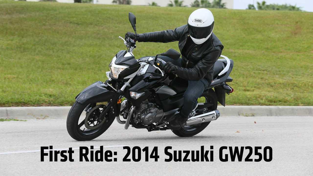 First Ride: 2013 Suzuki GW250 Review