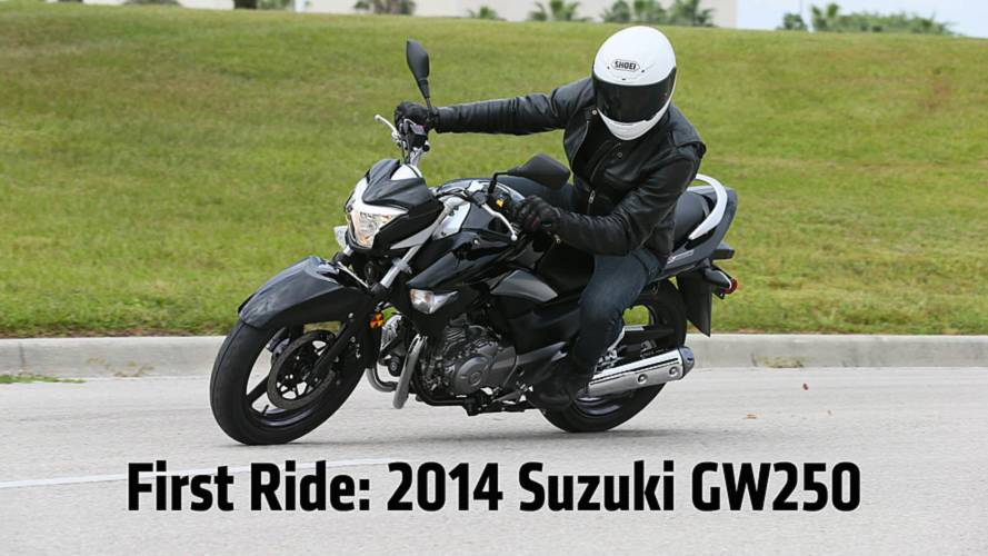 First Ride: 2013 Suzuki GW250 Review