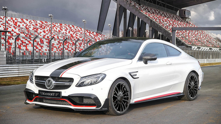 Mansory tunt Mercedes-AMG C 63 Coupé