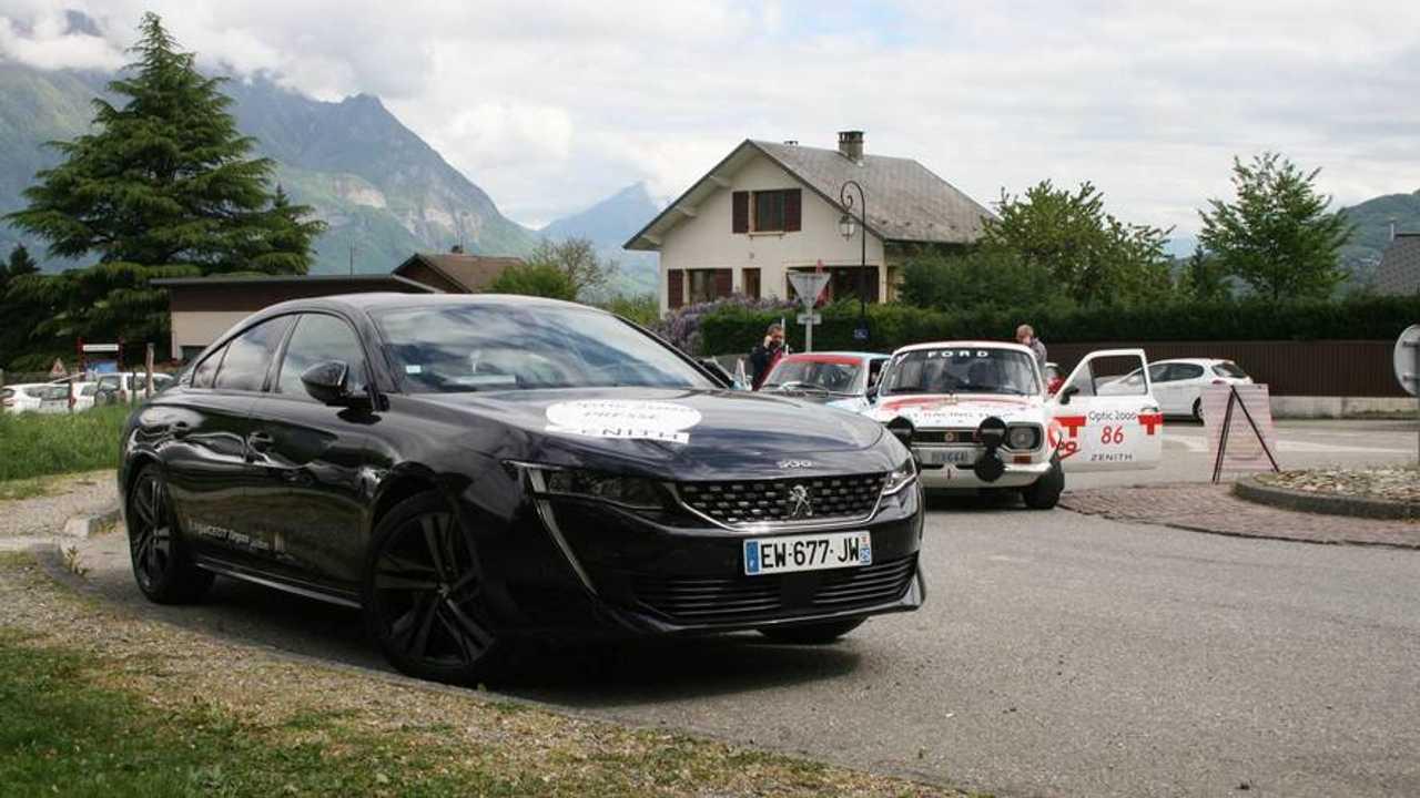Primera prueba Peugeot 508 GT 2018