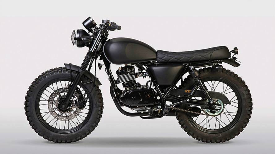 Mutt Motorcycles' Fat Sabbath 125 - None More Black