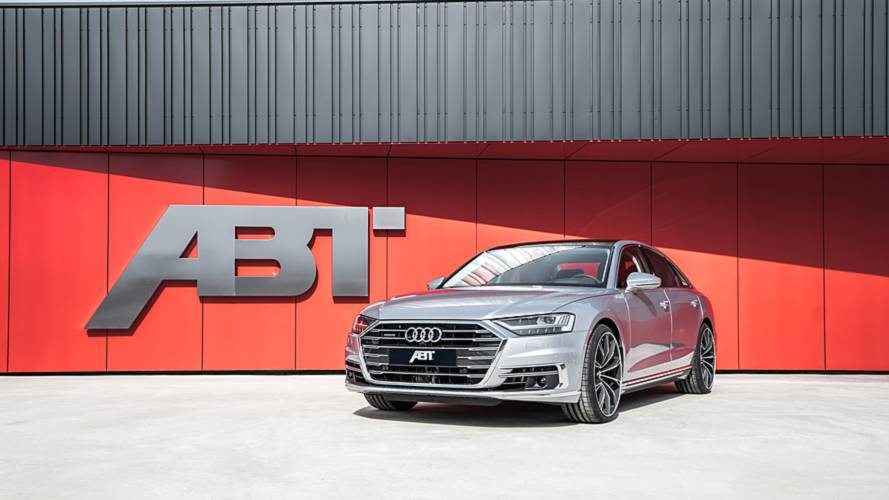 la nouvelle audi a8 revue par abt. Black Bedroom Furniture Sets. Home Design Ideas